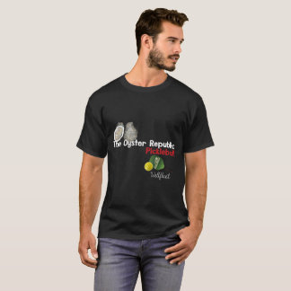 T-shirt de Pickleball - noir