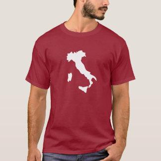 T-shirt de pictogramme de l'Italie