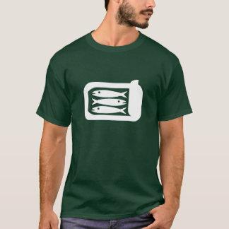 T-shirt de pictogramme de sardines
