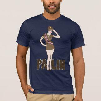 T-shirt de pin-up de Palin