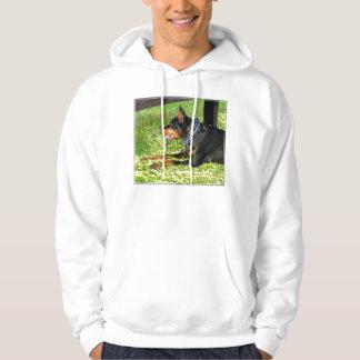 T-shirt de Pinscher de dobermann
