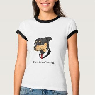 T-shirt de Pinscher miniature