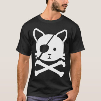 T-shirt de pirate de chat