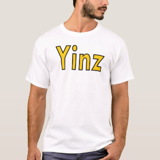 "T-shirt de Pittsburgh, Pennsylvanie ""Yinz"""