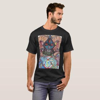 T-shirt de planète de Hexed