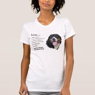 T-shirt De plus grands cadeaux suisses de chien de