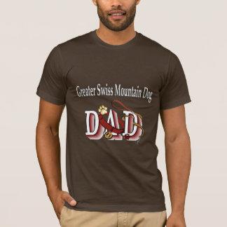 T-shirt De plus grands cadeaux suisses de papa de chien de
