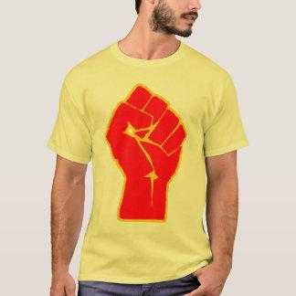 T-shirt de poing augmenté par révolutionnaire