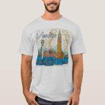 T-shirt de points de repère de Venise