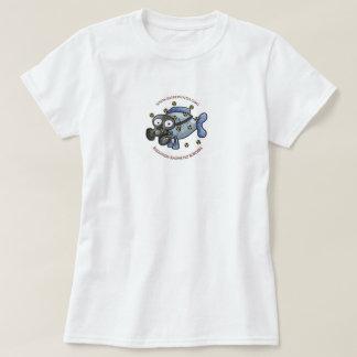 T-shirt de poissons du rayonnement des dames