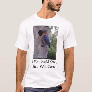 T-shirt de pondoir d'oiseau bleu
