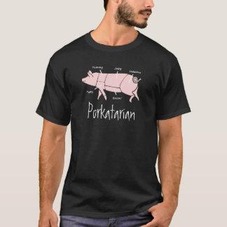 T-shirt de PORKatarian d'amant de lard et de
