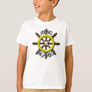 T-shirt de porteur d'alliances de pirate