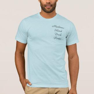 T-shirt de portier de dock d'île de Mackinac