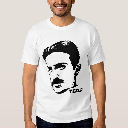 T-shirt de portrait de Nikola Tesla