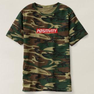 """T-shirt de """"PØSITIVITY"""" Camo"""
