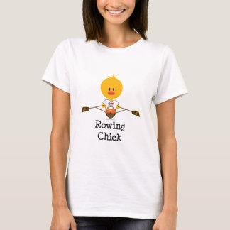 T-shirt de poussin d'aviron