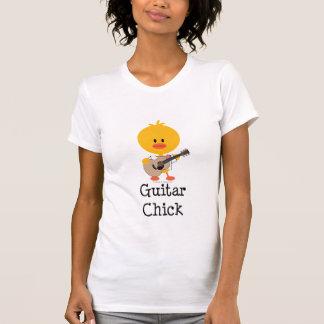 T-shirt de poussin de guitare