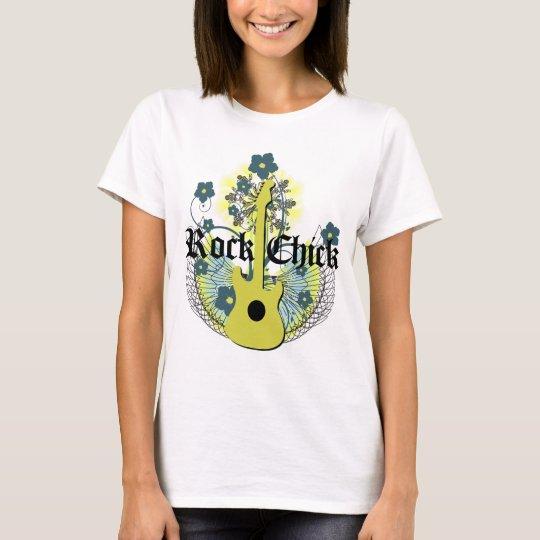 T-shirt de poussin de roche