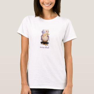 T-shirt de poussin d'infirmière