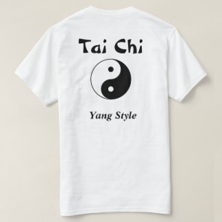 T-shirt de pratique en matière de Chi de Tai