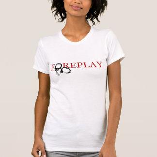 T-shirt de préliminaires (avec des menottes)