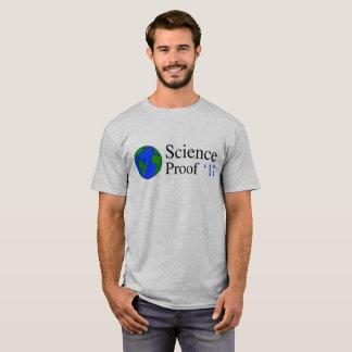 T-shirt de preuve de science de la terre