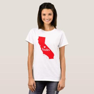 T-shirt de professeur de la Californie