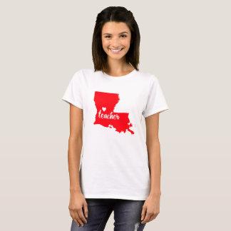 T-shirt de professeur de la Louisiane