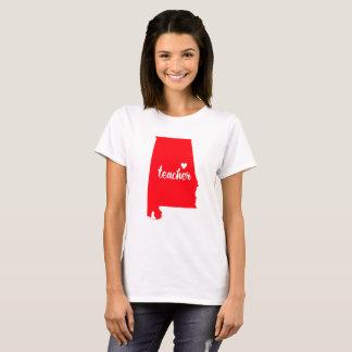 T-shirt de professeur de l'Alabama