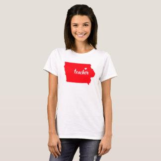 T-shirt de professeur de l'Iowa