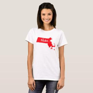 T-shirt de professeur du Massachusetts