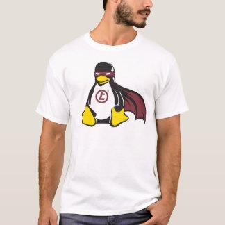 T-shirt de professionnel de Linux de pingouin de