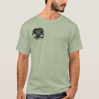 T-shirt De promenade chemise vers le bas