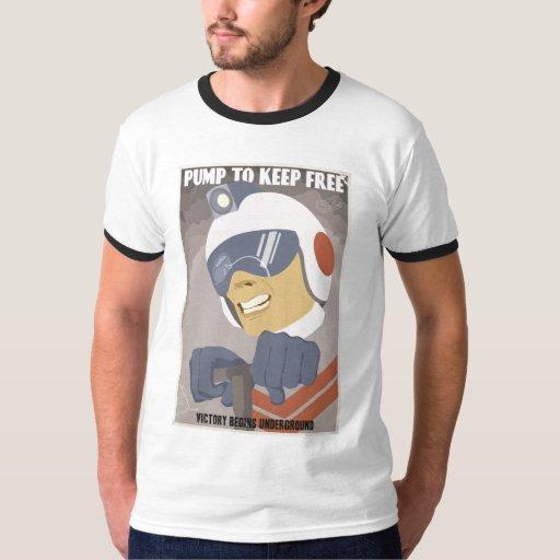 T-shirt de propagande d'arcade