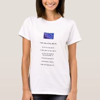 T-shirt de protestation de référendum