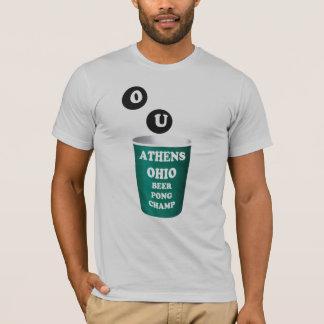 T-shirt de puanteur de bière d'Athènes, Ohio