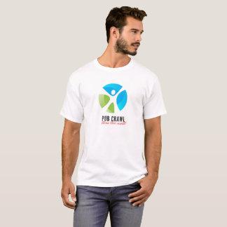 T-shirt de Pubcrawl des hommes