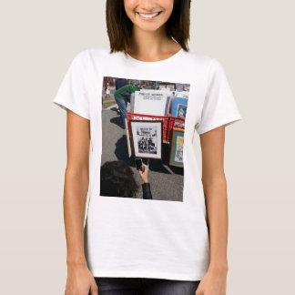 T-shirt de puissance de fille