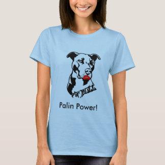 T-shirt de puissance de Palin