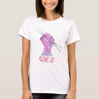 T-shirt de puissance de tricot pour les