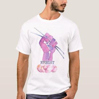 T-shirt de puissance du tricot des hommes