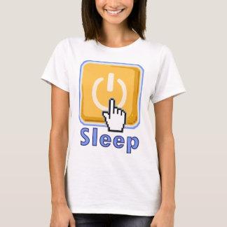 T-shirt de pyjama de bouton de sommeil