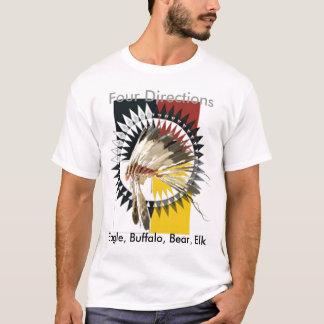 T-shirt de quatre directions