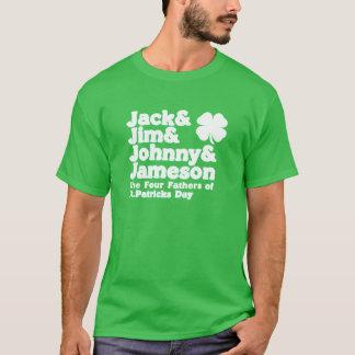 T-shirt De quatre la pièce en t du jour St Patrick de