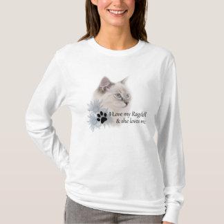 T-shirt de ragdoll