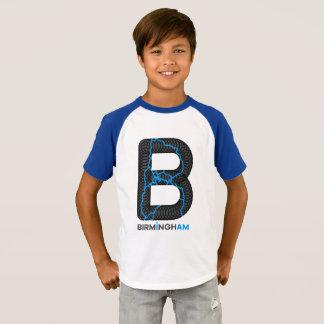 T-shirt de raglan de canaux de Birmingham
