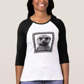 T-shirt de raglan de dames de Meerkat
