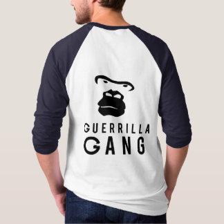 T-shirt de raglan de douille de GG 3/4