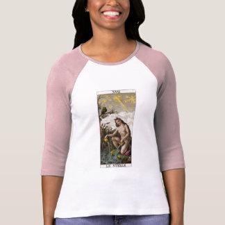 T-shirt de raglan de douille de Le Stelle 3/4